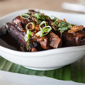 Hot & Spicy BBQ Pork Ribs