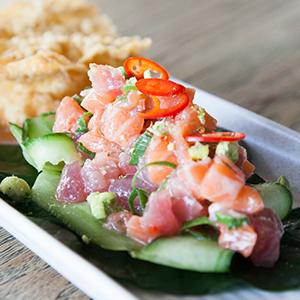 Tuna & Salmon Ceviche